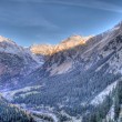 High mountain landscape in Val Chiavenna, Switzerland — Stock Photo