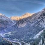 High mountain landscape in Val Chiavenna, Switzerland — Stock Photo