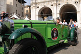 1931 built green TALBOT AV 105 at 1000 Miglia vintage car race in Brescia — Stock Photo