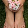 Feet — Stock Photo