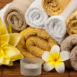 Stock Photo: Spa treatment and aromatherapy