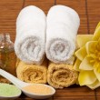 Spa treatment and aromatherapy — Stock Photo