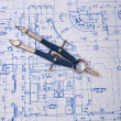 Blueprint — Stock Photo