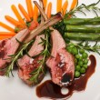 Lamb Chops - Stock Photo
