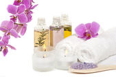 Spa treatment and aromatherapy — Stock Photo