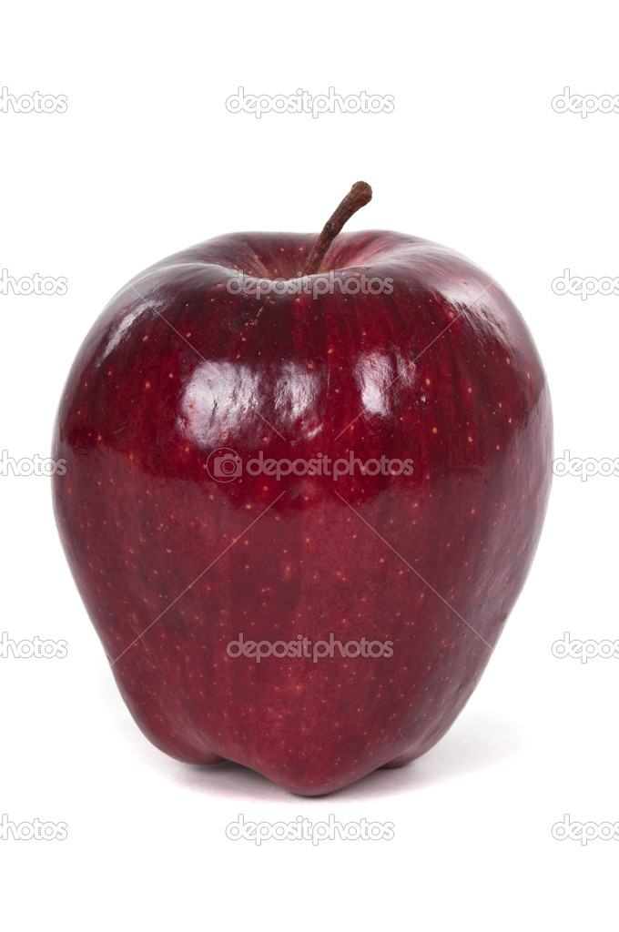 Red organic apple — Stock Photo #9279110