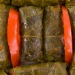 Mediterranean Stuffed Grape Leaves - ストック写真