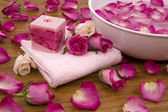 Roses in a Spa — Stock Photo