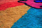 Colored sawdust — Stock Photo