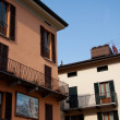 Houses in Menaggio (Como) — Stock Photo