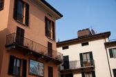 Houses in Menaggio (Como) — Stock Photo