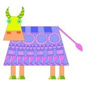 Vaca de design — Vetor de Stock
