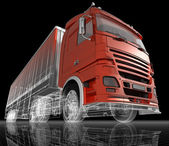 Camion. — Foto Stock