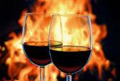 Red wine. — Stock Photo