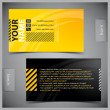 Set of creative business cards — Stock Vector #9321818