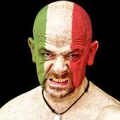 意大利体育迷 — 图库照片