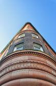 Old corner building — Stock Photo