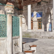 Stockfoto: Ablution taps at sokullu pascamii Mosque