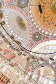 Suleiman Mosque interior 06 — Stock Photo