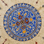 Suleiman Mosque interior 11 — Stock Photo