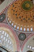 Suleiman Mosque interior 01 — Stock Photo