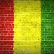 Brick Wall Guinea — Stock Photo