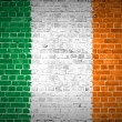 Brick Wall Ireland — Stock Photo