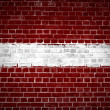 Brick Wall Latvia - Stock Photo