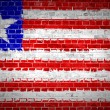 Brick Wall Liberia - Stock Photo