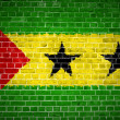 Stock Photo: Brick Wall Sao Tome and Principe