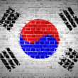 Brick Wall South Korea — Stock Photo