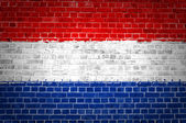 Brick Wall Netherlands — Stock Photo
