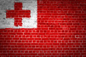 Brick Wall Tonga — Stock Photo
