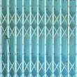 Steel shutters - Stock Photo