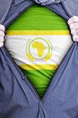 African Union Businessman — Stock Photo