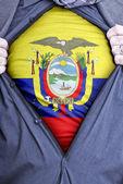 Biznesmen ekwadoru — Zdjęcie stockowe