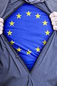 European Union Businessman — Stock Photo