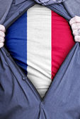 Hombre de negocios francés — Foto de Stock
