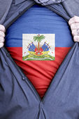 Biznesmen haiti — Zdjęcie stockowe