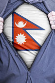 Nepalu biznesmen — Zdjęcie stockowe