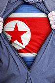 North Korean Businessman — Stock Photo