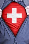 Swiss Businessman — Stock Photo