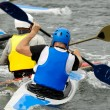 Kayak sport — Stock Photo
