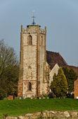 Церковная башня — Стоковое фото