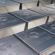 Silver bars — Stock Photo