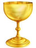 Gyllene bägare — Stockfoto