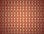Abstract seamless vintage wallpaper — Stockvector