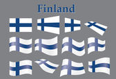Flag of Finland — Stock Vector