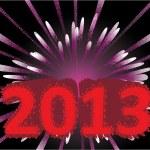 New year 2013 background — Stock Photo #8760094