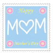 Happy Mothers Day — Stock Vector